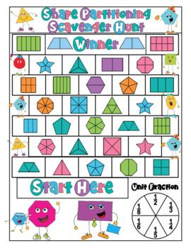3rd Grade Math Games: Geometry