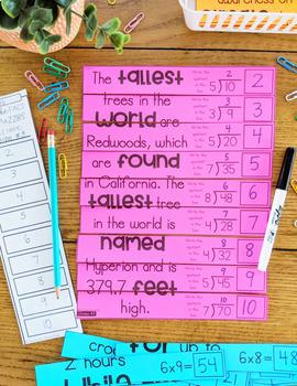 3rd Grade Math Games | Math Puzzles | Spiral Math Review | Math Centers | April