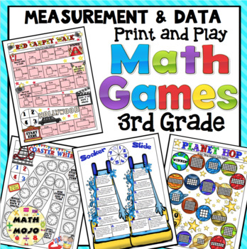 3rd Grade Math Games: Measurement and Data