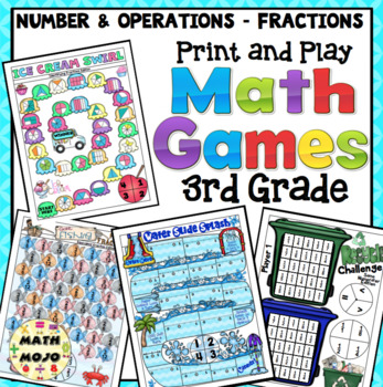 3rd Grade Math Games: Number and Operations in Base Ten