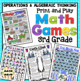 3rd Grade Math Games: Operations and Algebraic Thinking