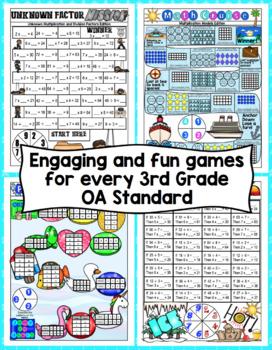 3rd Grade Math Games: Operations and Algebraic Thinking