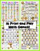 3rd Grade Math Games and Centers - Emoji Theme