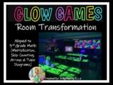 3rd Grade Math Glow Games Room Transformation