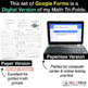 3rd Grade Math Google FORMS - Number & Operations in Base 10 : 9 Quizzes