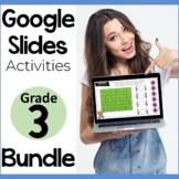 3rd Grade Math Google Slides Activities Bundle