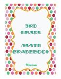 3rd Grade Math Gradebook