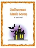 3rd Grade Math Halloween Scoot Freebie