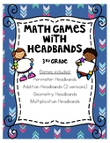 3rd Grade Math Headband Games