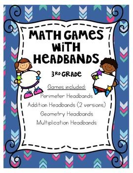 3rd Grade Math Headband Games