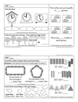 3rd Grade Math Homework