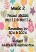 3rd Grade Math Homework WEEK 2 - NBT.1.1 & NBT.1.2