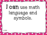 3rd Grade Math I Can Posters- NEW TEKS aligned (2014)
