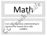 "3rd Grade Math ""I Can..."" Statements"
