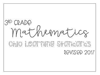 3rd Grade Math I Can Statements