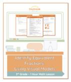 3rd Grade Math   Identify Equivalent Fractions: Using Visual Models