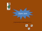 Slam Jam: A basketball game which teaches the use of fractions