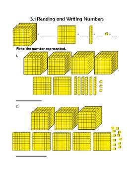 3rd Grade Math Interactive Notebook