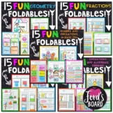 3rd Grade Math Interactive Notebook Bundle | ALL Standards