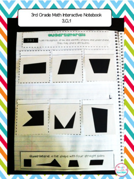 3rd Grade Math Interactive Notebook {Common Core Aligned}