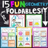 3rd Grade Math Interactive Notebook - Geometry
