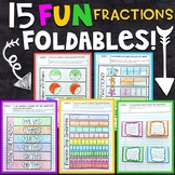 3rd Grade Math Interactive Notebook | Fractions