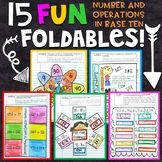 3rd Grade Math Interactive Notebook | Number and Operation