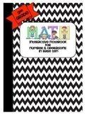 Math Interactive Notebook 3rd Grade- Number & Base Ten Con