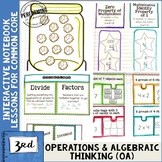 Interactive Math Notebook 3rd Grade Operations & Algebraic