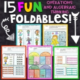 3rd Grade Math Interactive Notebook | Operations and Algeb