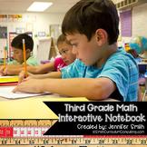 Third Grade Math Interactive Notebook