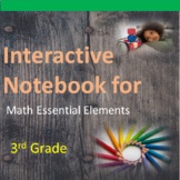 3rd Grade Math Interactive Notebook for Significant Cognitive Disabilities