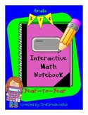 3rd Grade Math Interactive Notebook