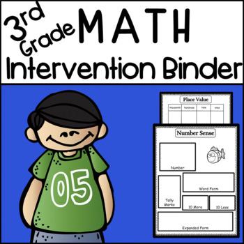 3rd Grade Math Intervention Binder