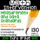 3rd Grade Math Intervention Pack MEASUREMENT AND DATA NO P