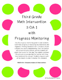 3rd Grade Math Intervention and Progress Monitoring: 3OA1