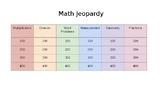 3rd Grade Math Jeopardy (Cumulative)