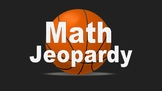 3rd Grade Math Jeopardy Game