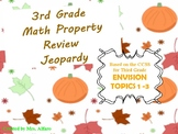 3rd Grade Math Jeopardy ActivBoard Game EnVision Topics 1-3 Promethean/ClassFlow