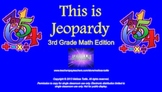 3rd Grade Math Jeopardy SMARTboard Review ~ CCSS ALIGNED!
