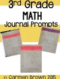 3rd Grade Math Journals For the Entire Year