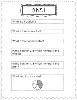 3rd Grade Math Journals {NF} for Interactive Notebooks {CC Aligned}