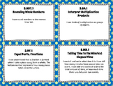 "3rd Grade Math Kid-Friendly ""I CAN"" Statements for Common Core State Standards"
