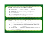 3rd Grade Math Language Stems