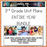 3rd Grade Math Lesson Plan Bundle Entire Year Follows TEKS!