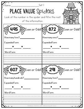 3rd Grade Math & Literacy {For All Seasons}