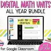 3rd Grade Math MEGA BUNDLE of Digital Interactive Math Goo