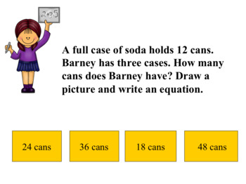 3rd Grade Math Madness - Interactive Power Point Game