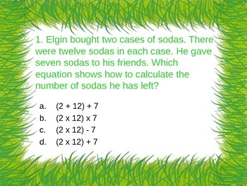 3rd Grade Math: Multiple Step Problems, Elapsed Time, & Order of Operations