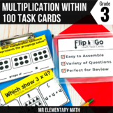 Multiplication Task Cards 3rd Grade Math Centers